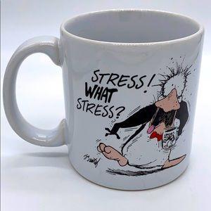 Vintage Opus Stoneware Mug